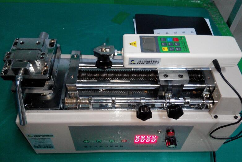 电动卧式推拉力计FHT-500N.测印刷包装是否合格